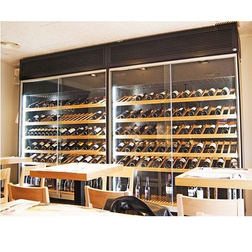 Vinotecas a medida un lujo para tus vinos - Vinotecas de madera ...